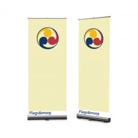 Roll Up banner 85 × 200 cm