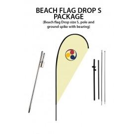 Beach flag Drop S package
