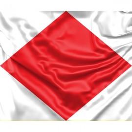 "Signal flag Foxtrot ""F"""