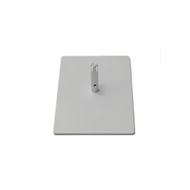 Ground plate 18 x 30 cm (2,5 kg / 5,51 lbs)