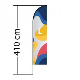 Beach flag Straight L