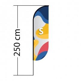 Beach flag Convex S