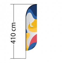 Beach flag Convex L
