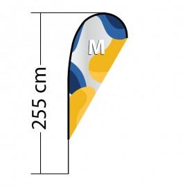 Beach flag Drop M