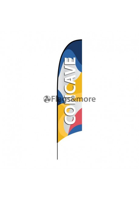 Beach flag Concave