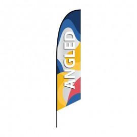 Beach flag Angled
