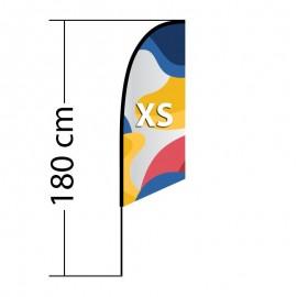 Beach flag Angled XS