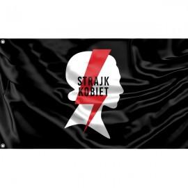 Black Strajk Kobiet Flag Unique Print, 3x5 Ft / 90x150 cm size, EU Made