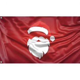 Santa Claus Flag Unique Print, 3x5 Ft / 90x150 cm size, EU Made
