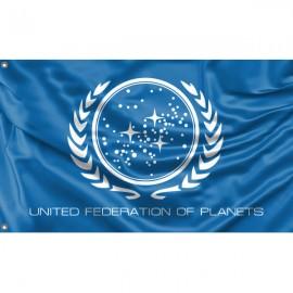 United Federation Flag Unique Print, 3x5 Ft / 90x150 cm size, EU Made