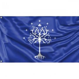 Tree of Gondor Flag Unique Print, 3x5 Ft / 90x150 cm size, EU Made