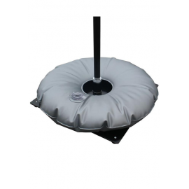 Ground plate 35x35 with water bag (6,3kg / 13,88 lbs) +10 litres