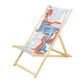 Custom deck chair
