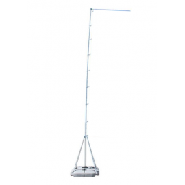 Mobile flag pole MEGA