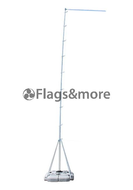 Mobile flag pole MEGA