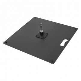 Ground plate 50 x 50 cm (15,0 kg / 33,06 lbs)