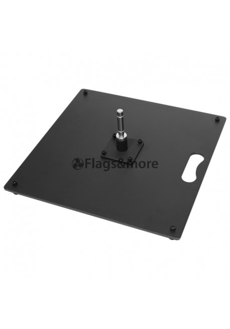 Ground plate 58 x 58 cm (20,0 kg / 44,09 lbs)