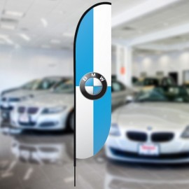 BMW Beach flag