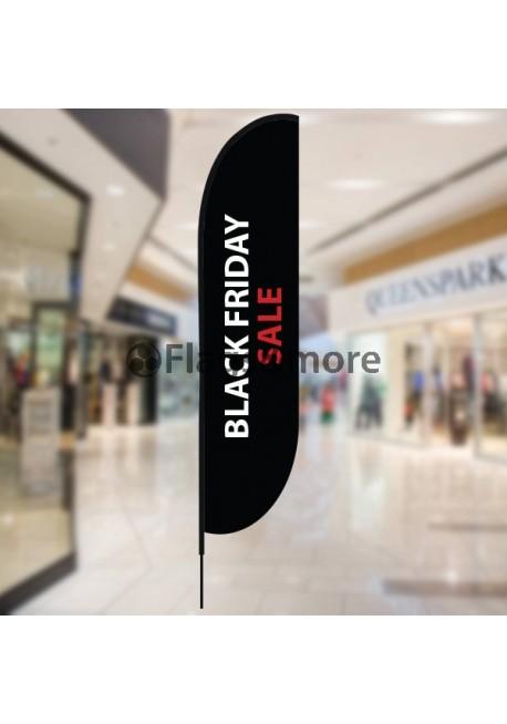 Black Friday Sale Beach flag