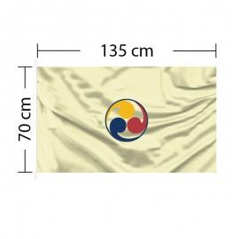 Custom Flag 4ft 6in x 2ft 3in - 135 x 70cm