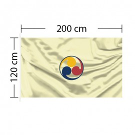 Custom Flag 6ft 7in x 4ft - 200 x 120cm