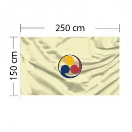 Custom Flag 8ft 3in x 5ft - 250 x 150cm