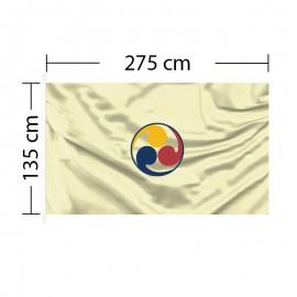 Custom Flag 9ft x 4ft 6in - 275 x 135cm