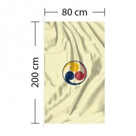 Vertical Flag 2ft 8in x 6ft 7in - 80 x 200cm