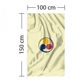Vertical Flag 3ft 4in x 5ft - 100 x 150cm