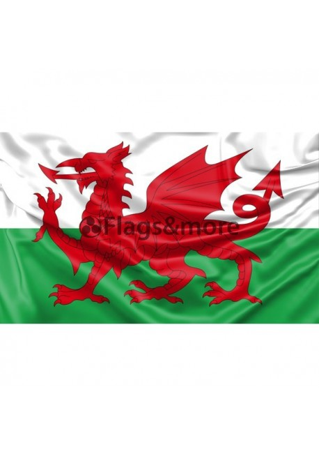 "Wales ""The Red Dragon"" Flag"