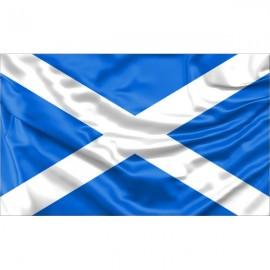 "Scotland ""St. Andrew's Saltire"" National Flag"