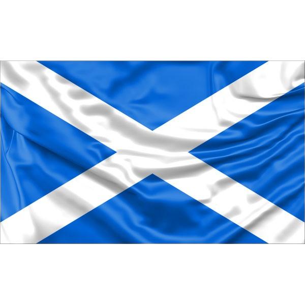 5ft X 3ft Ideal for Flagpole 150 X 90cm Andrews Cross Scottish Saltire Flag St