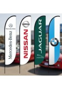 Auto Dealership Beach Flags